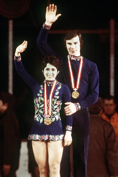 Роднина и Зайцев считались самой успешной парой фигуристов в мире