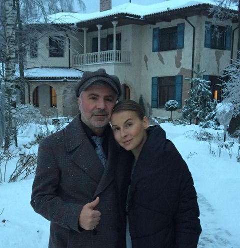 Сосо Павлиашвили заканчивает строительство шикарного особняка. ФОТО