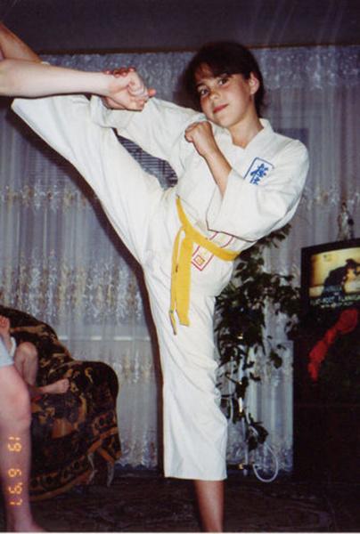 Елена Беркова в детстве