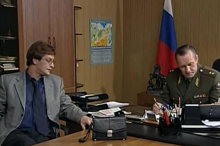 Во втором сезоне сериала «Марш Турецкого» актер сыграл Бориса Петрова, генерала-лейтенанта ФСБ