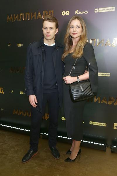 Раньше актриса часто выходила в свет с сыном Андреем