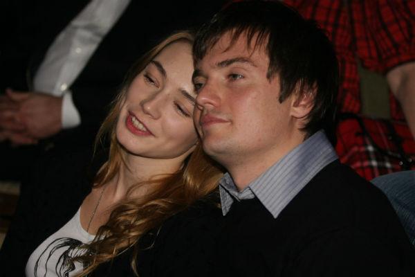 С первым мужем Дмитрием Литвиновым