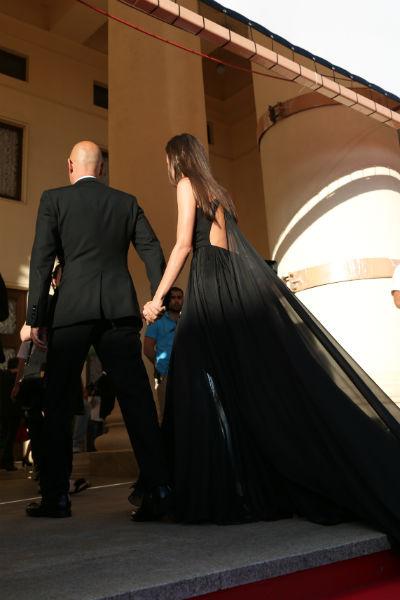 Бондарчук и Андреева не отпускали рук друг друга