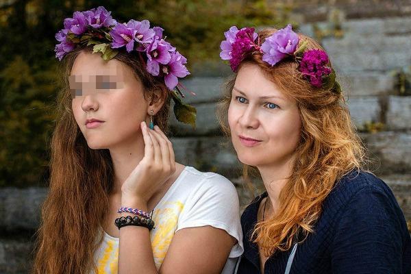 Анастасия Сосина много путешествовала вместе с дочерью Таисией