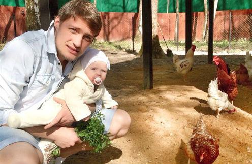 Александр Задойнов с дочерью Александрой