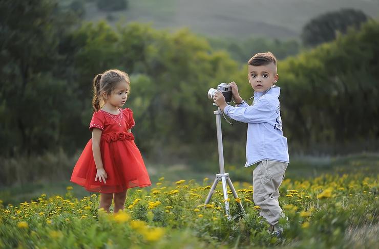 Часто в рекламе снимаются дети не из актерских или модельных агенств