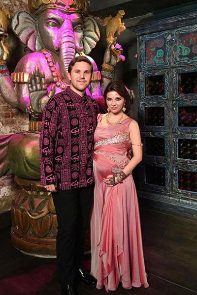 Галина с супругом