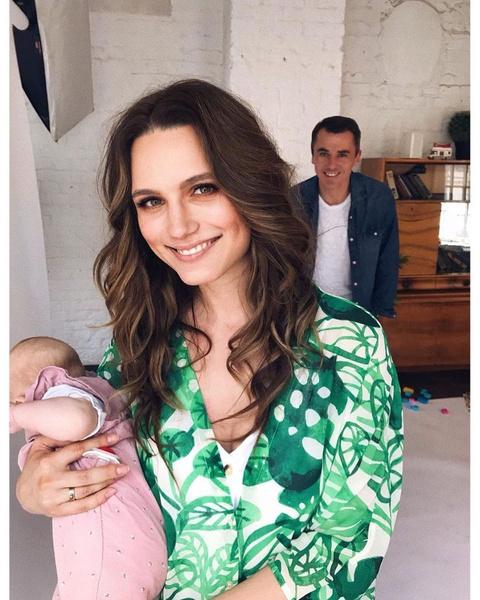 Дочь Ева родилась в январе 2019 года
