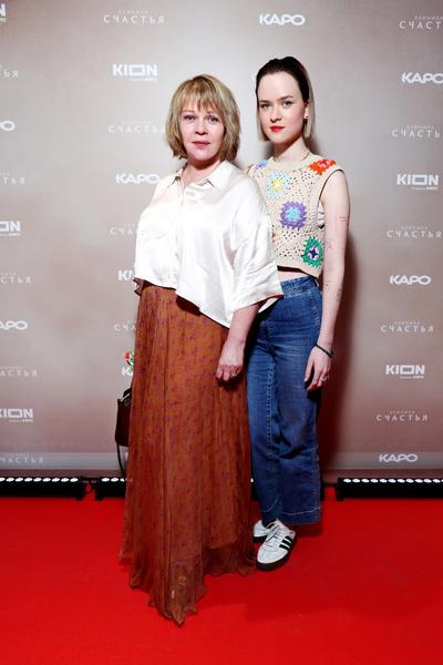 Елена Валюшкина с дочкой Марией