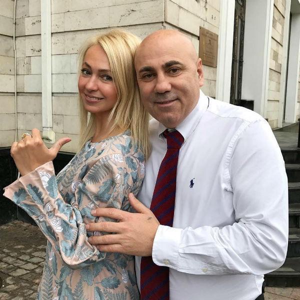 Яна Рудковская дружит с Иосифом Пригожиным