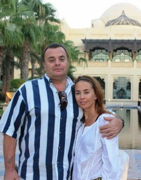 Владимир Борисович и Жанна Фриске