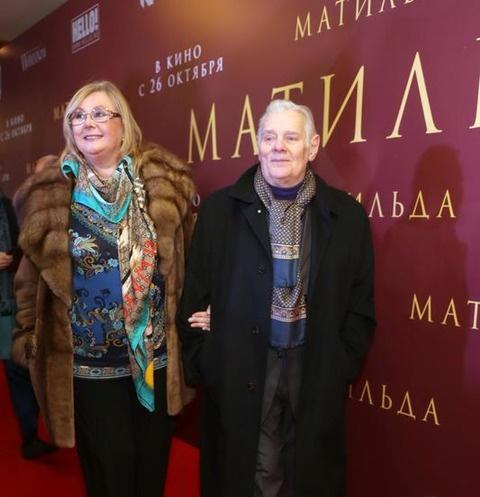 Наталья Селезнева и Владимир Андреев