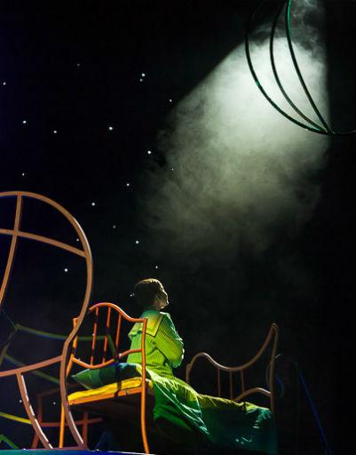 Цирковому искусству драматических актеров научил хореограф и постановщик трюков Иоланта Страдомскайте