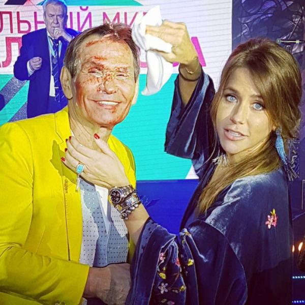 Бари Алибасов и Юлия Барановская