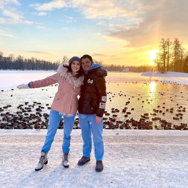 Анастасия Макеева с избранником Романом Мальковым