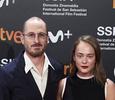 Аглая Тарасова впервые вышла в свет с Дарреном Аронофски
