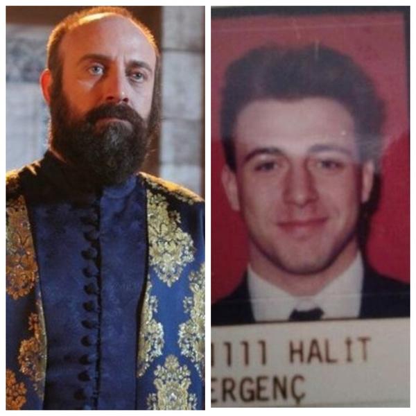 Халит Эргенч в школьные годы выглядел совершенно иначе