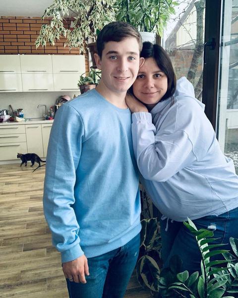 Марина Балмашева с мужем Вовой