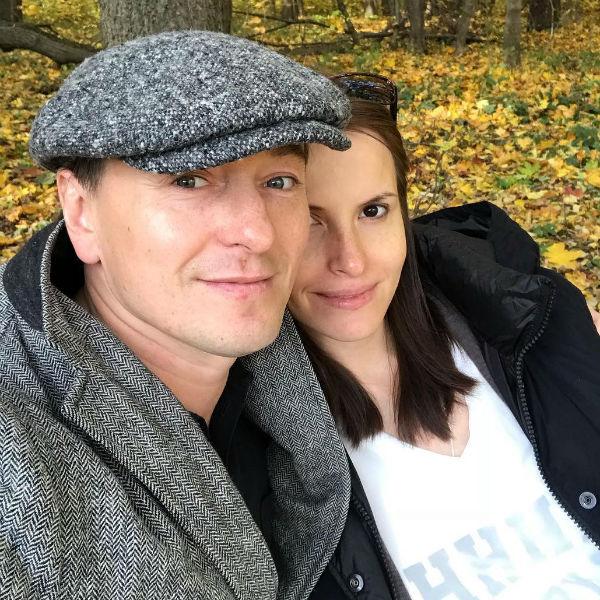 Сергей Безруков вместе с женой