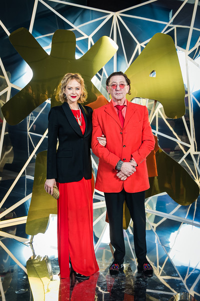 Григорий Лепс с женой Анной