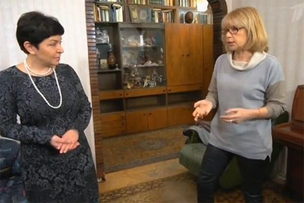 Вера Глаголева решила вдохнуть новую жизнь в свою старую квартиру, которая пустовала много лет