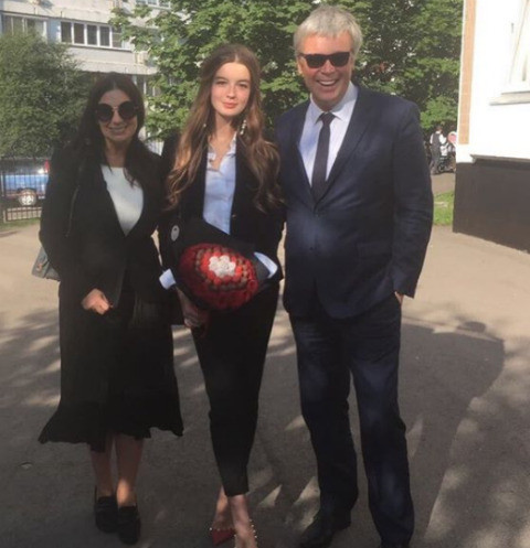 Александр, Александра и Екатерина Стриженова