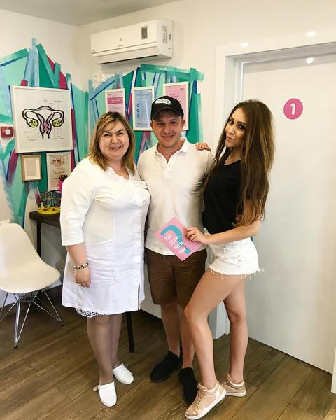Алена и Илья вместе посещают женскую консультацию