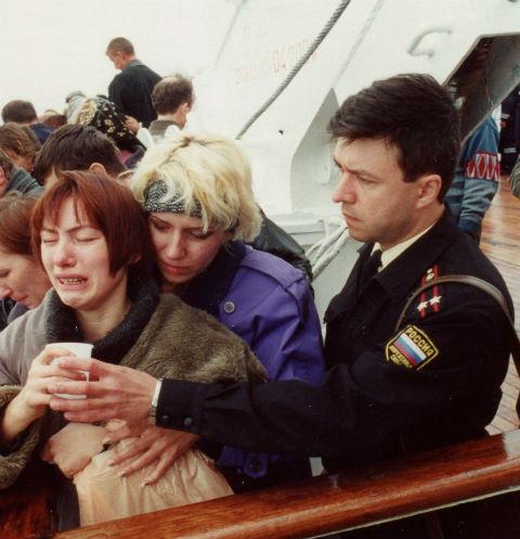 Вдовы подводников до последнего надеялись на чудо