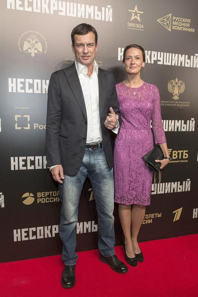 Андрей Чернышов и Мария Добржинская