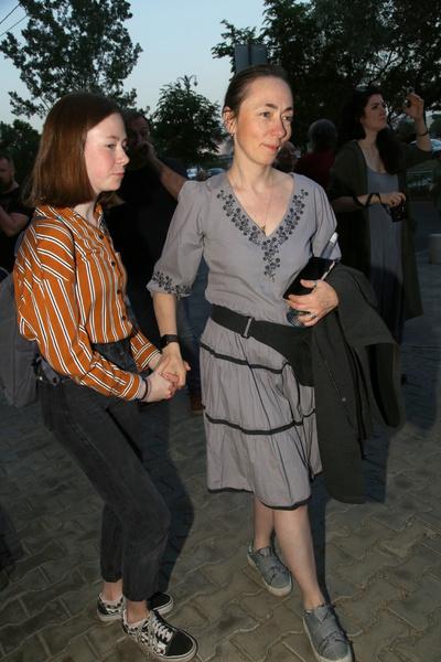 Софья Кругликова с дочерью