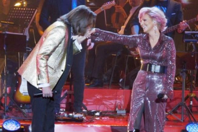 Ветлицкая выступила на юбилейном концерте Маликова