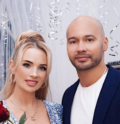 Андрей Черкасов и его жена Кристина