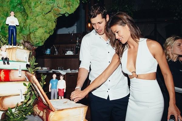 Евгений Малкин с женой