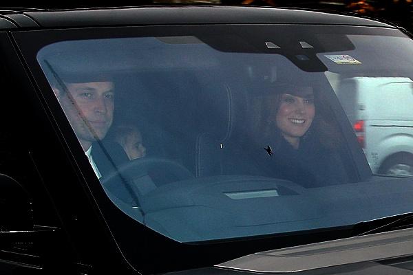 Принц Уильям с женой Кейт Миддлтон