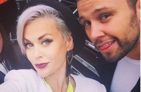 Таня Терешина и Слава Никитин на всех совместных снимках выглядели очень счастливыми