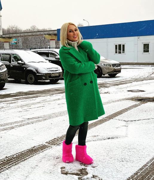 Лера Кудрявцева привыкает к новым формам