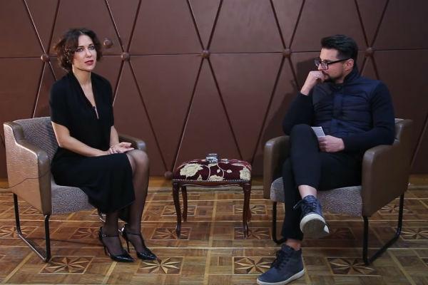 Актриса не смогла сдержать эмоций во время интервью