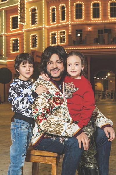 Дети кардинально изменили жизнь Филиппа Бедросовича