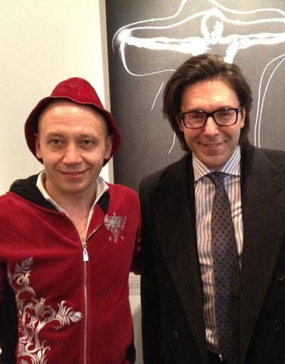 Андрей Малахов и Серж Головач