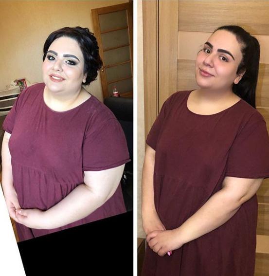 София Броян до и после похудения