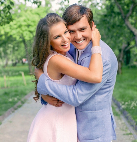 Саша Артемова и Евгений Кузин
