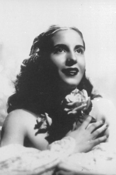 Единственную главную роль мечтавшая стать известной актрисой Эва Дуарте сыграла в картине «Блудная женщина»