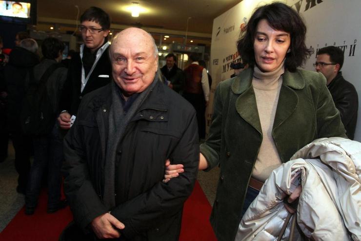 Михаил Жванецкий с супругой