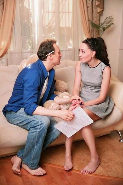 Анатолий Белый и Мария Ефремова сыграли влюбленных