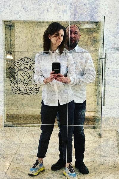 Тимур Бекмамбетов с Наталией Фишман