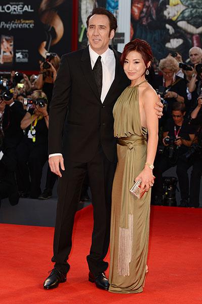 Николас Кейдж и Элис Ким считались одной из самых крепких пар Голливуда