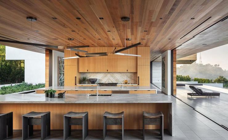 В особняке есть несколько кухонных помещений