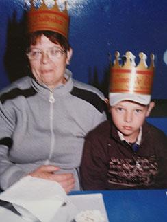 Владик с бабушкой