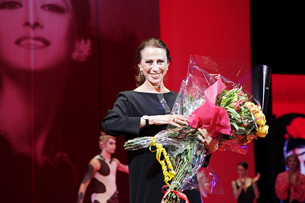 Майя Плисецкая танцевала даже после ухода на пенсию