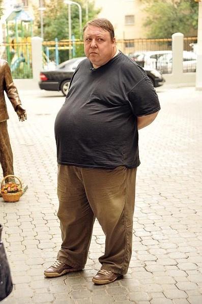 Таким был Семчев до похудения